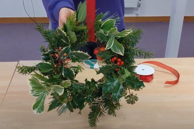 Festive wreaths 4