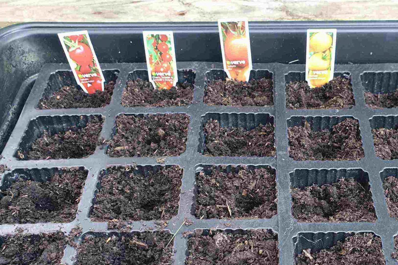 Labelling plants