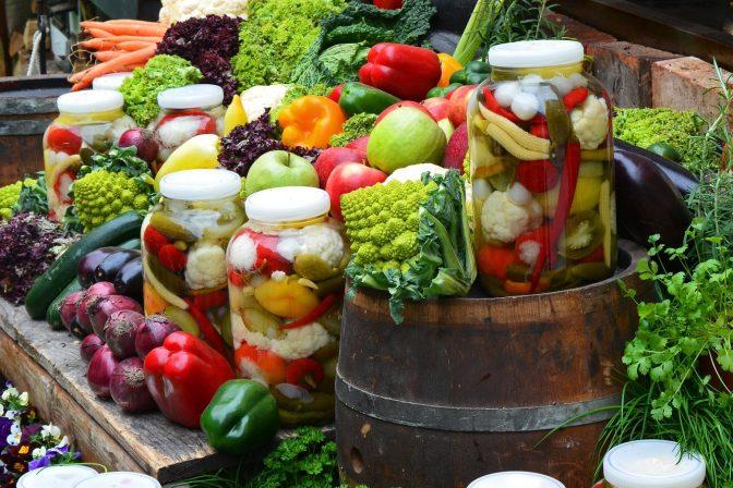 Preserve produce