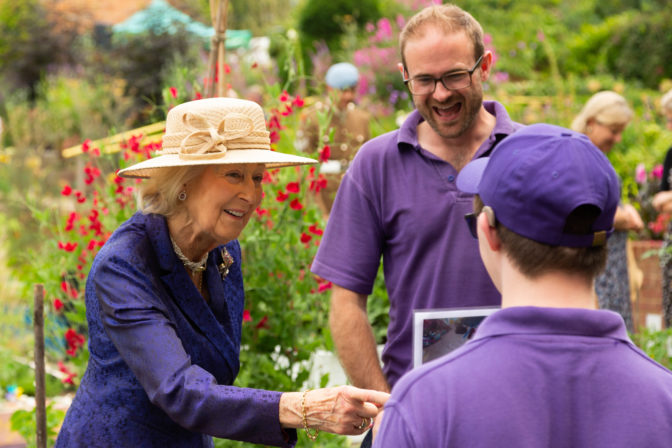 Princess Alexandra at Thrive