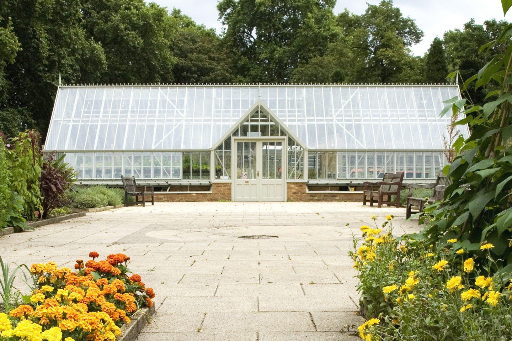 Glasshouse in Herb Garden Battersea