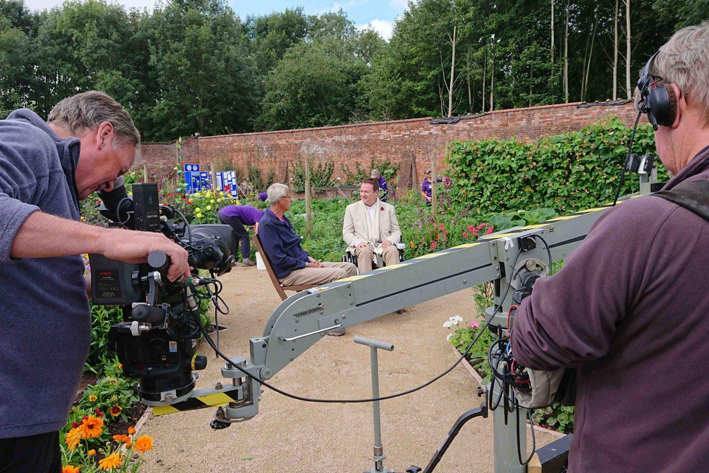 Mark Lane filming on GW 2