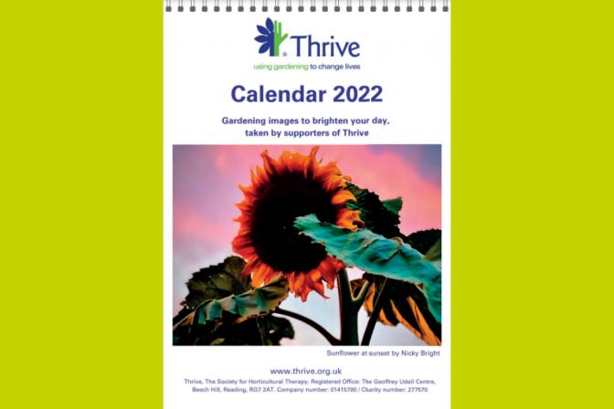 A4 calendar 2022 for website green