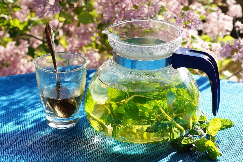 Herbal teas cafetiere